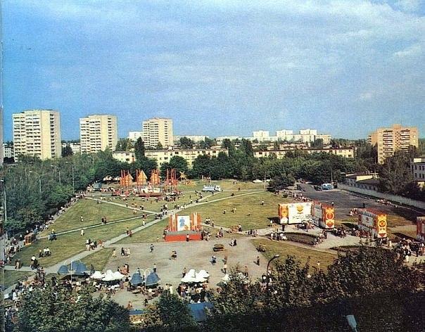 Площадь, на которой теперь располагается рынок Павлово поле.