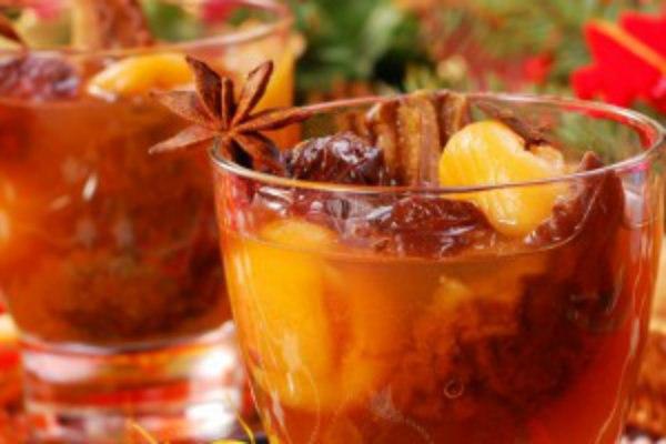 Чай с сухофруктами