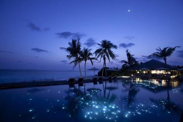 Ночь на Мальдивах
