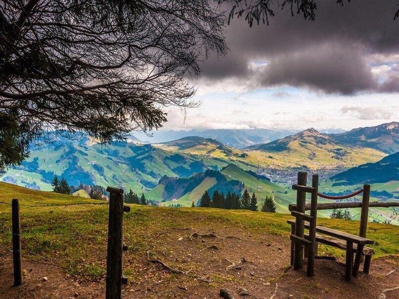 Пейзажи Швейцарии