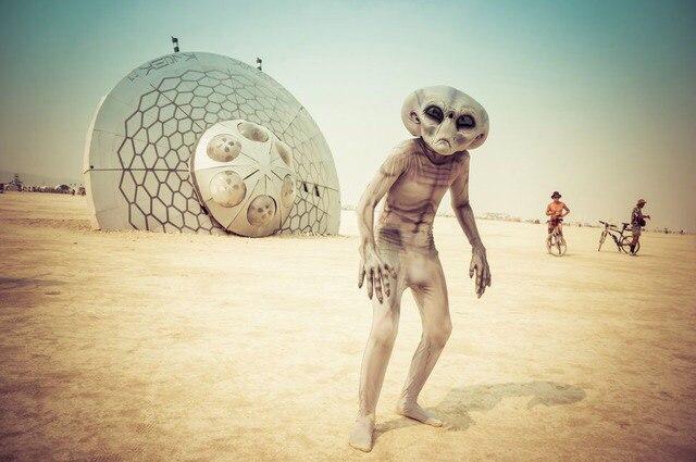 Фестиваль Burning Man в Неваде, США