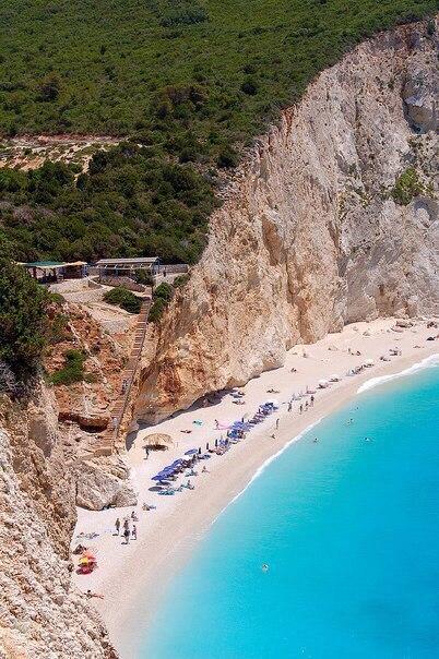 Остров Лефкас, Греция