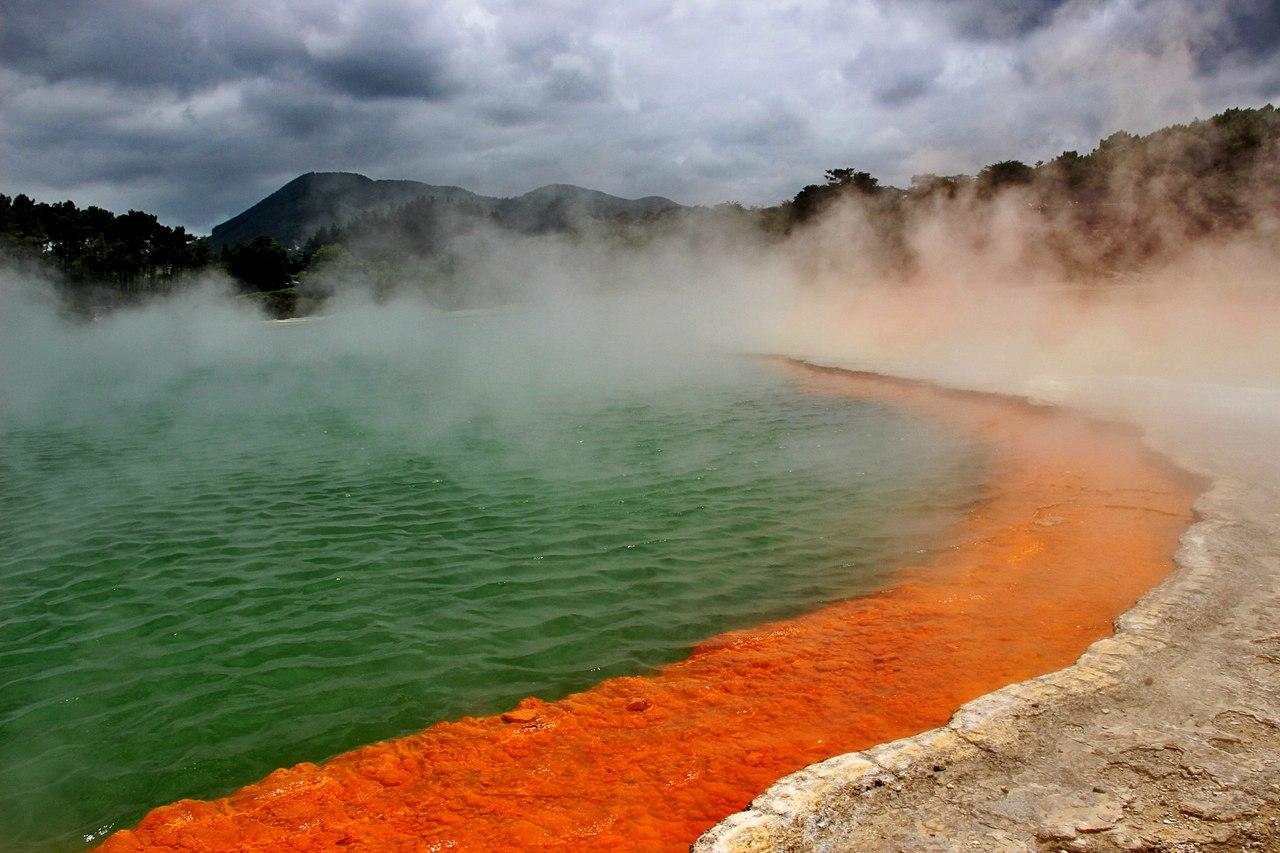 Природный парк Ваи-о-Тапу. Новая Зеландия