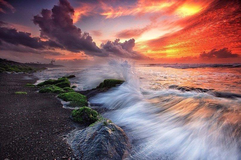 Вечер на острове Бали