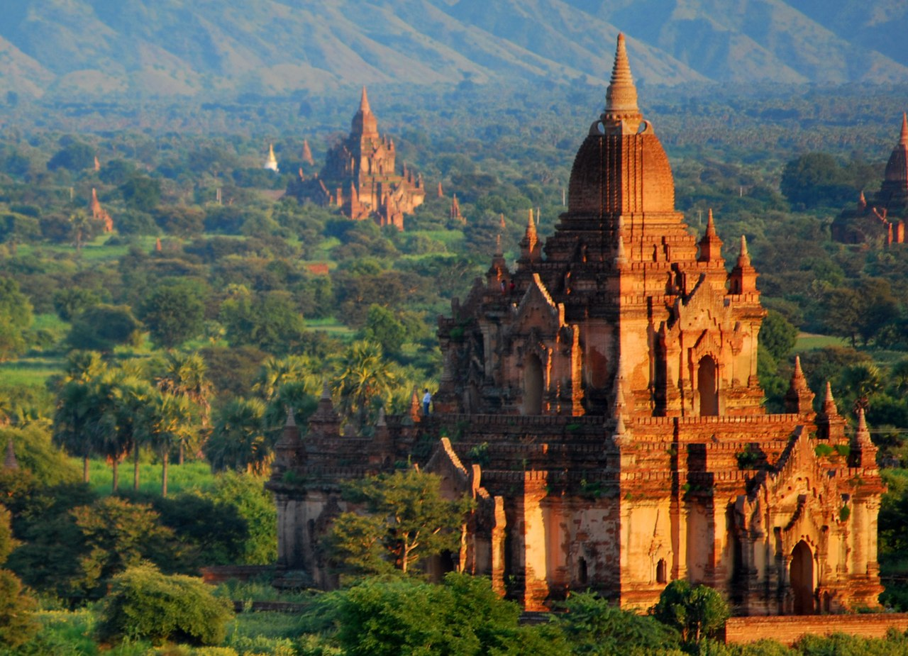 Город Баган (Паган), Мьянма