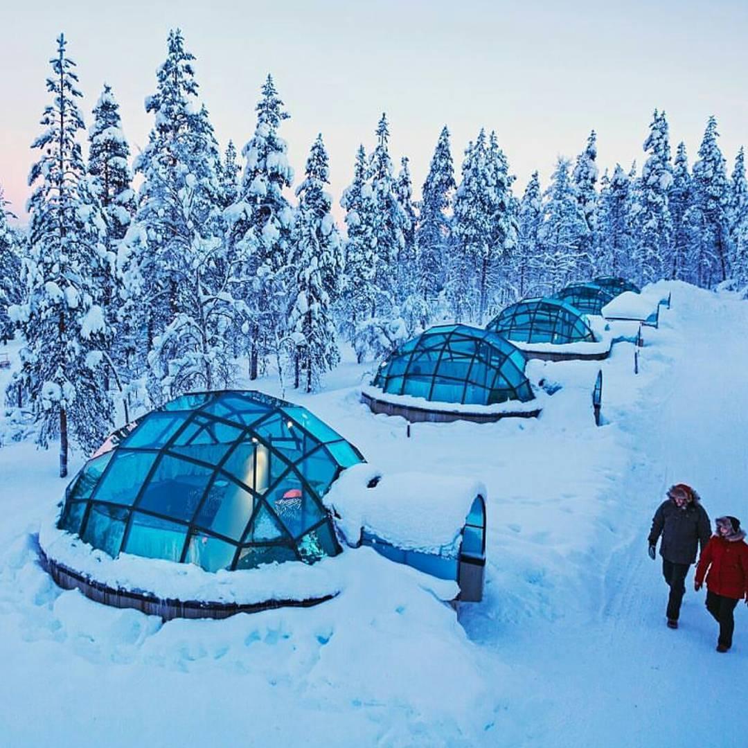 Какслауттанен — семейная гостиница в Лапландии