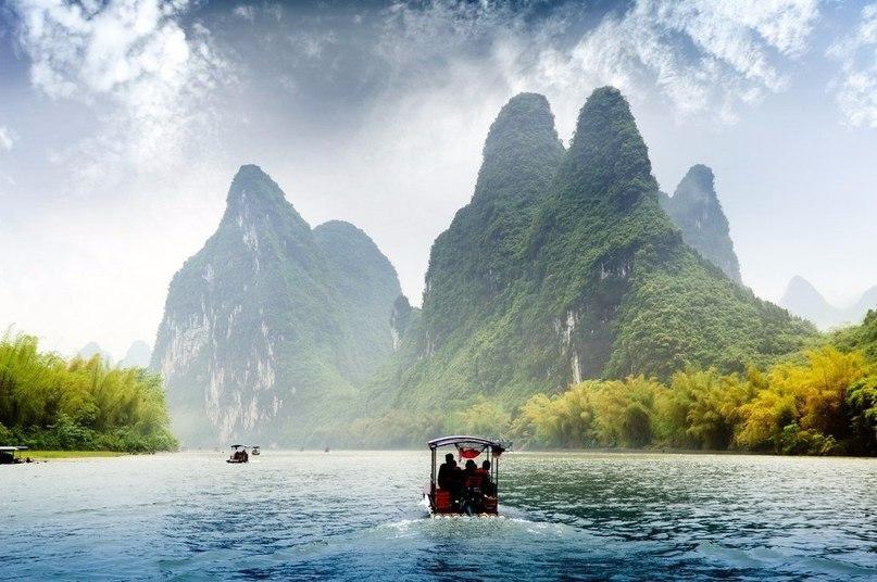 Река Лицзян — одна из самых красивых и живописных рек в Китае.