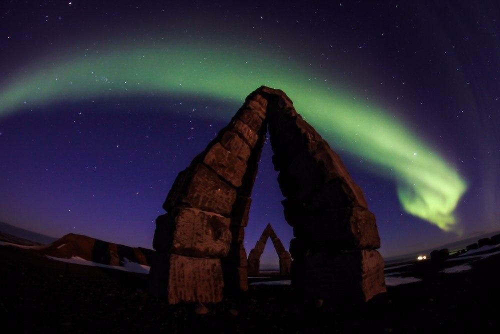 Северное сияние (Aurora Borealis)