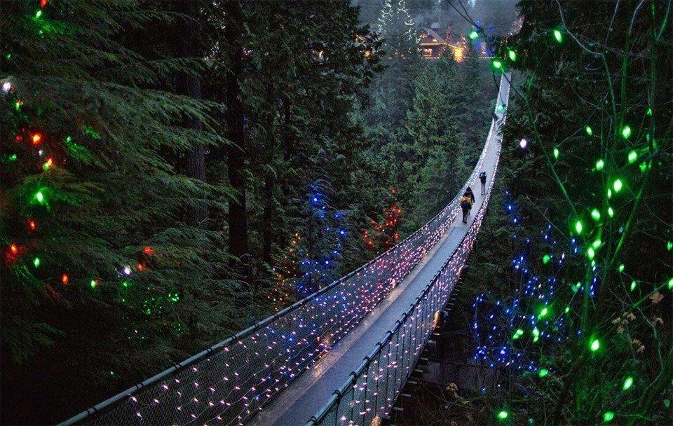 Подвесной мост Капилано, Канада