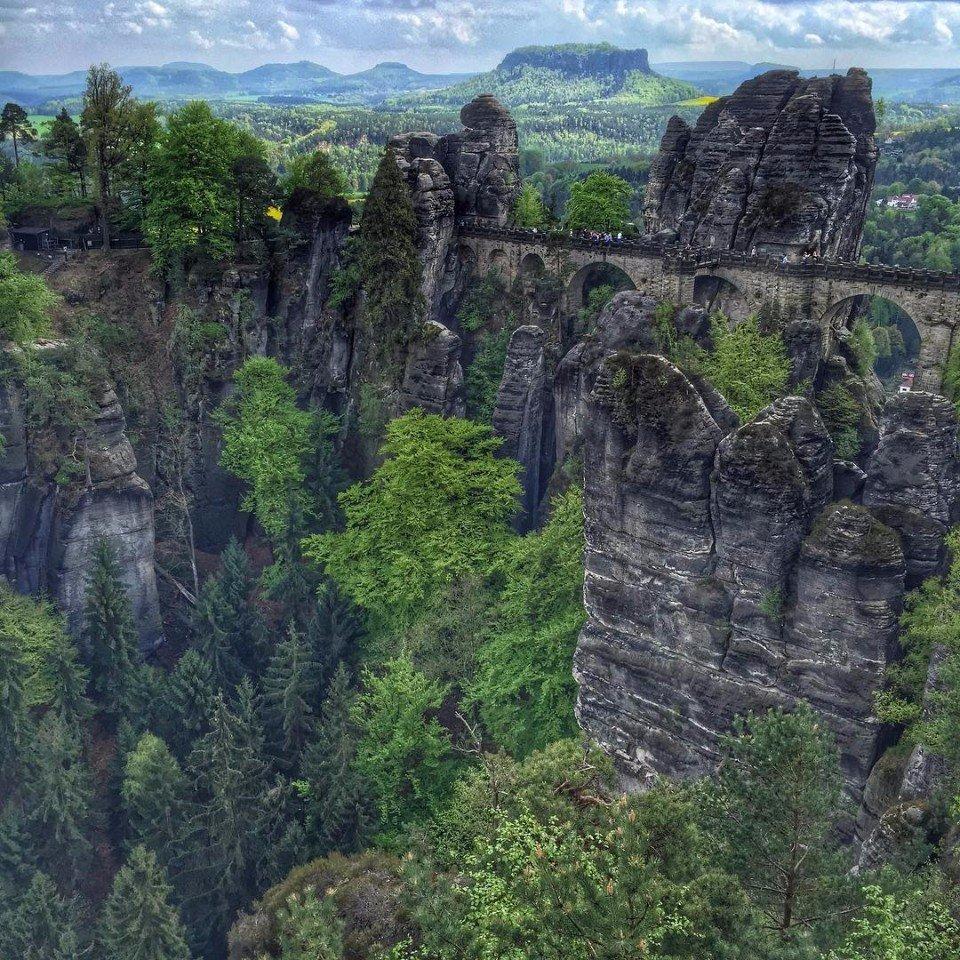 Национальный парк Саксонская Швейцария, Германия