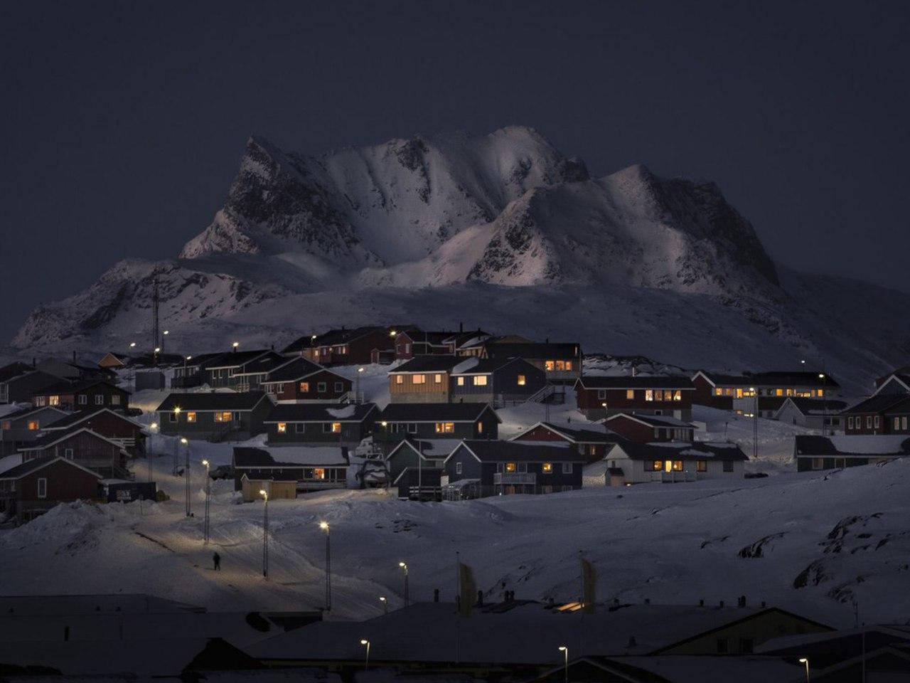 Ночь в Гренландии