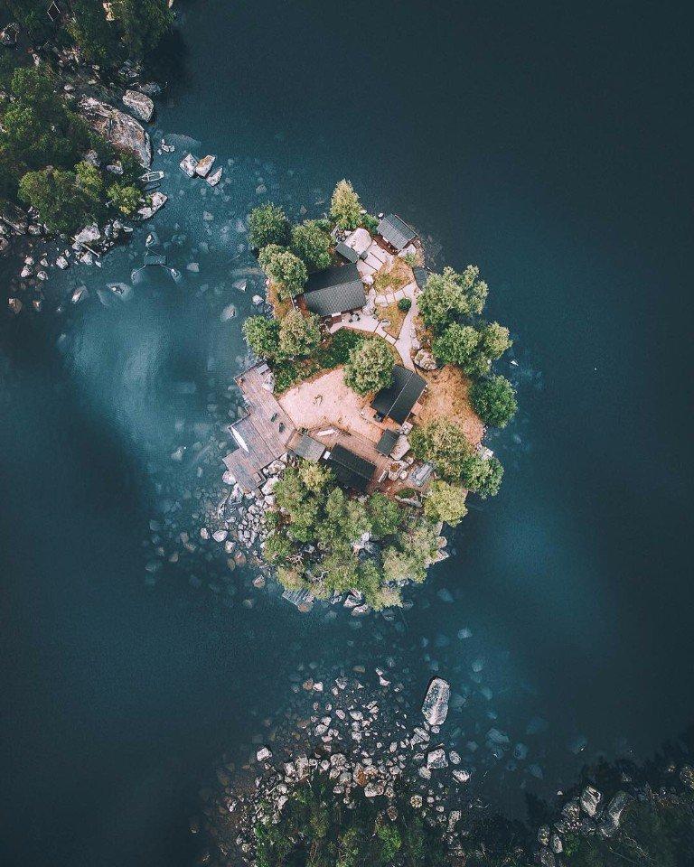 Фотографии Швеции с квадрокоптера