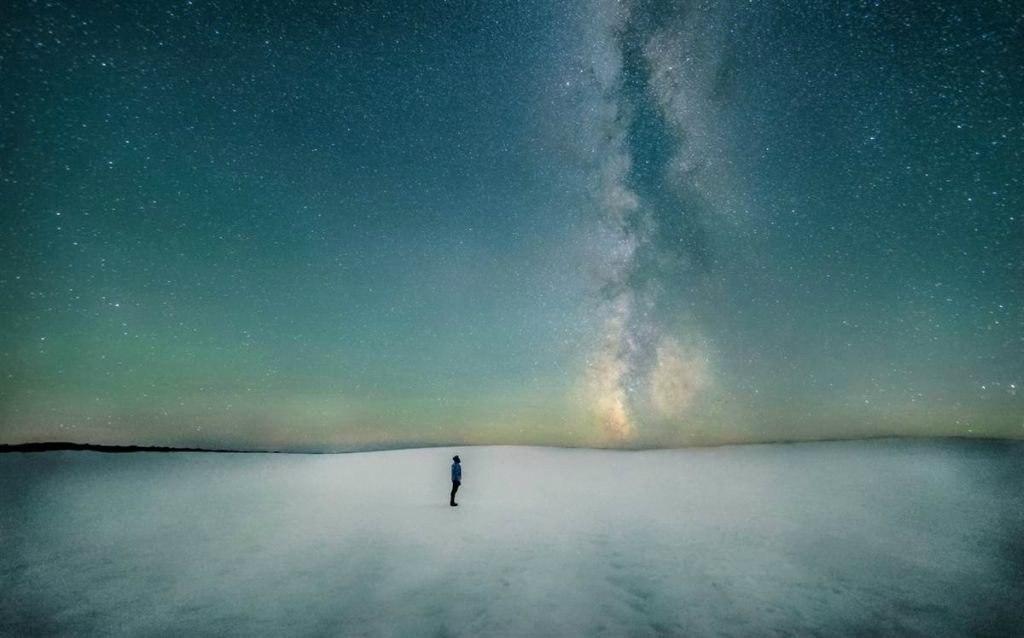 Серия снимков Млечного Пути от новозеландского фотографа Марка Ги.