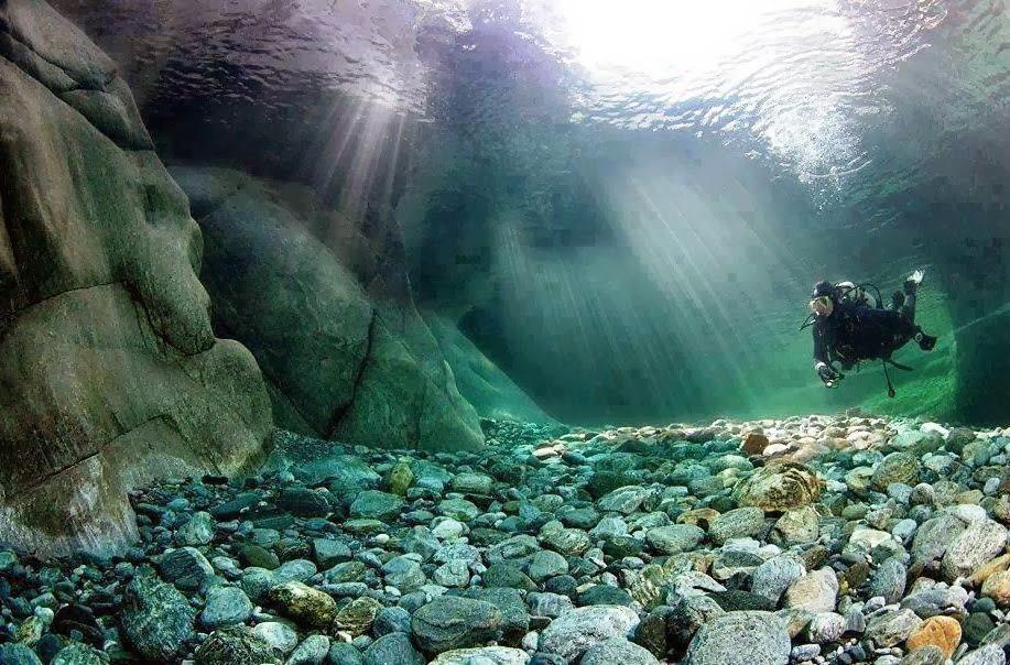 Верзаска — самая прозрачная река в мире