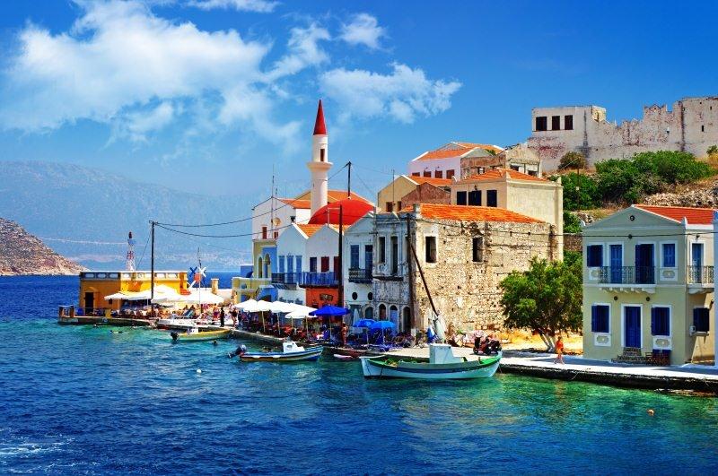 Пейзажи Средиземноморья