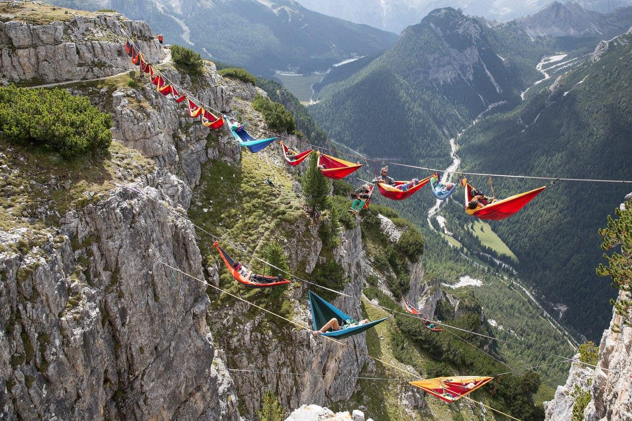 Как тусуются альпинисты