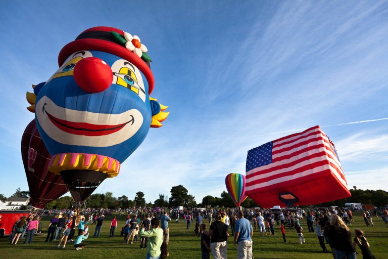 Фестиваль воздушных шаров в США
