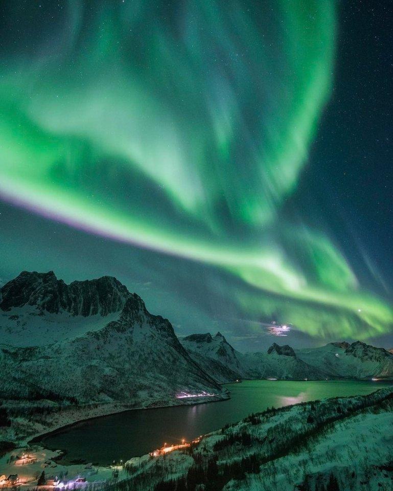 норвегия северное сияние картинки связи