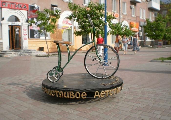 укрепилась памятник велосипеду бердянск фото белыми волками показывает